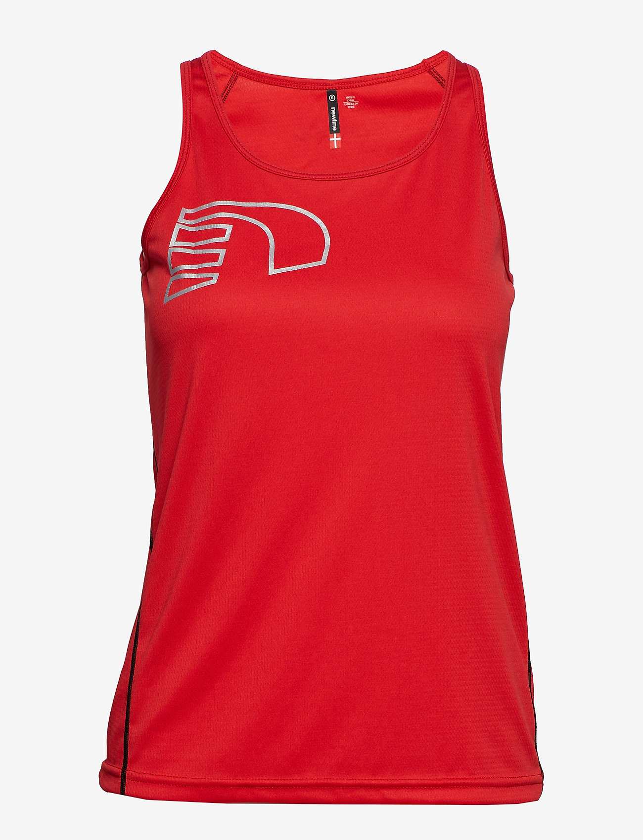 Newline - Core Coolskin Singlet - tank tops - red - 0