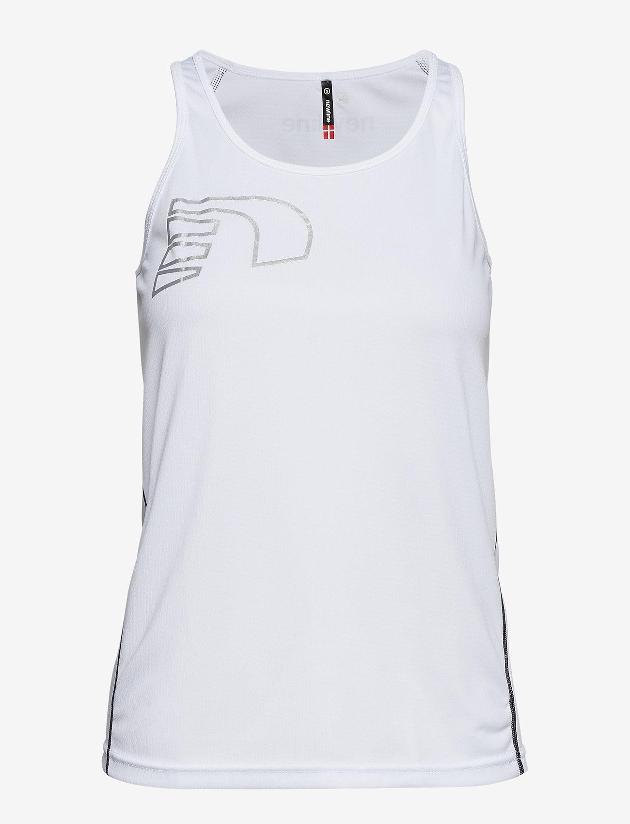 Newline - Core Coolskin Singlet - linnen - white - 0