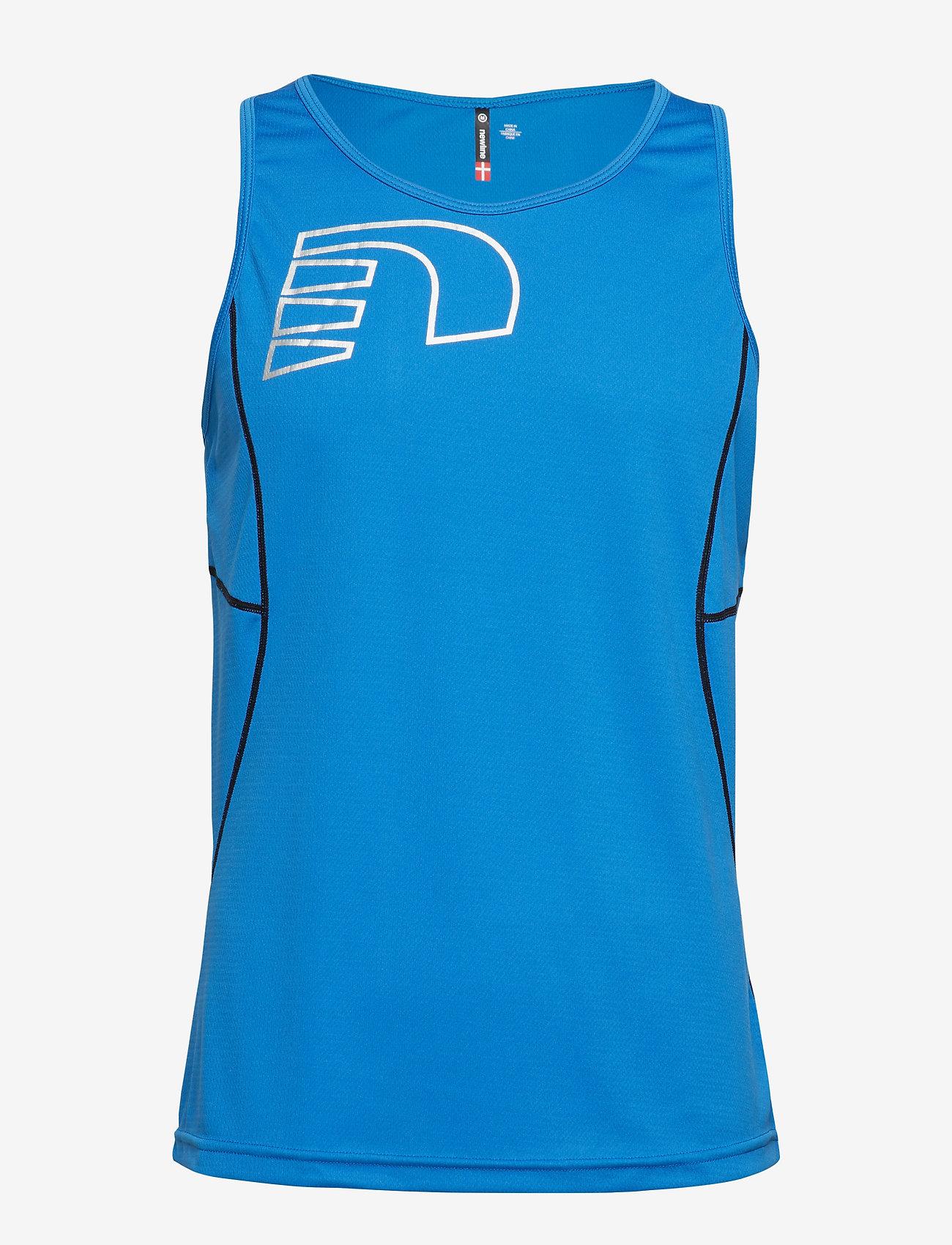 Newline - Core Coolskin Singlet - sporttoppar - blue - 0
