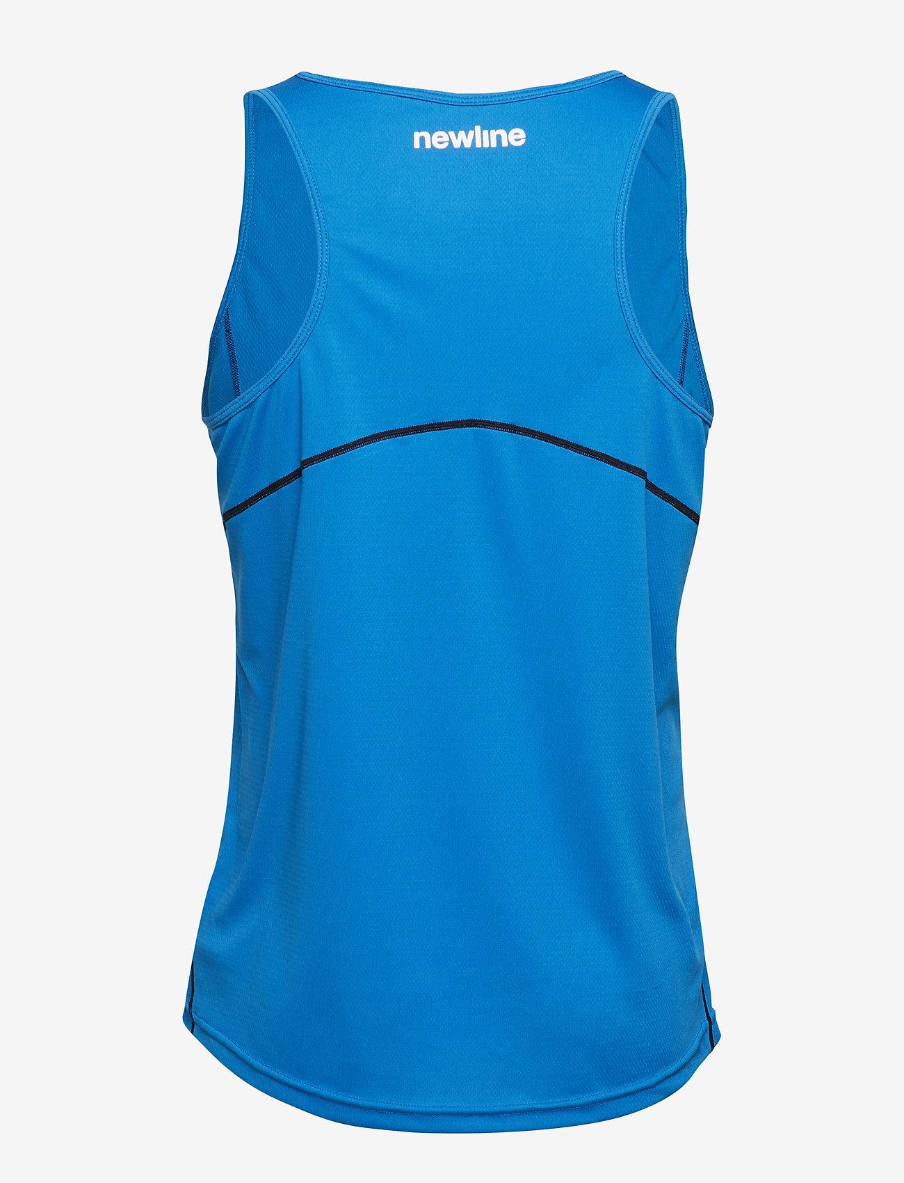 Newline - Core Coolskin Singlet - sporttoppar - blue - 1