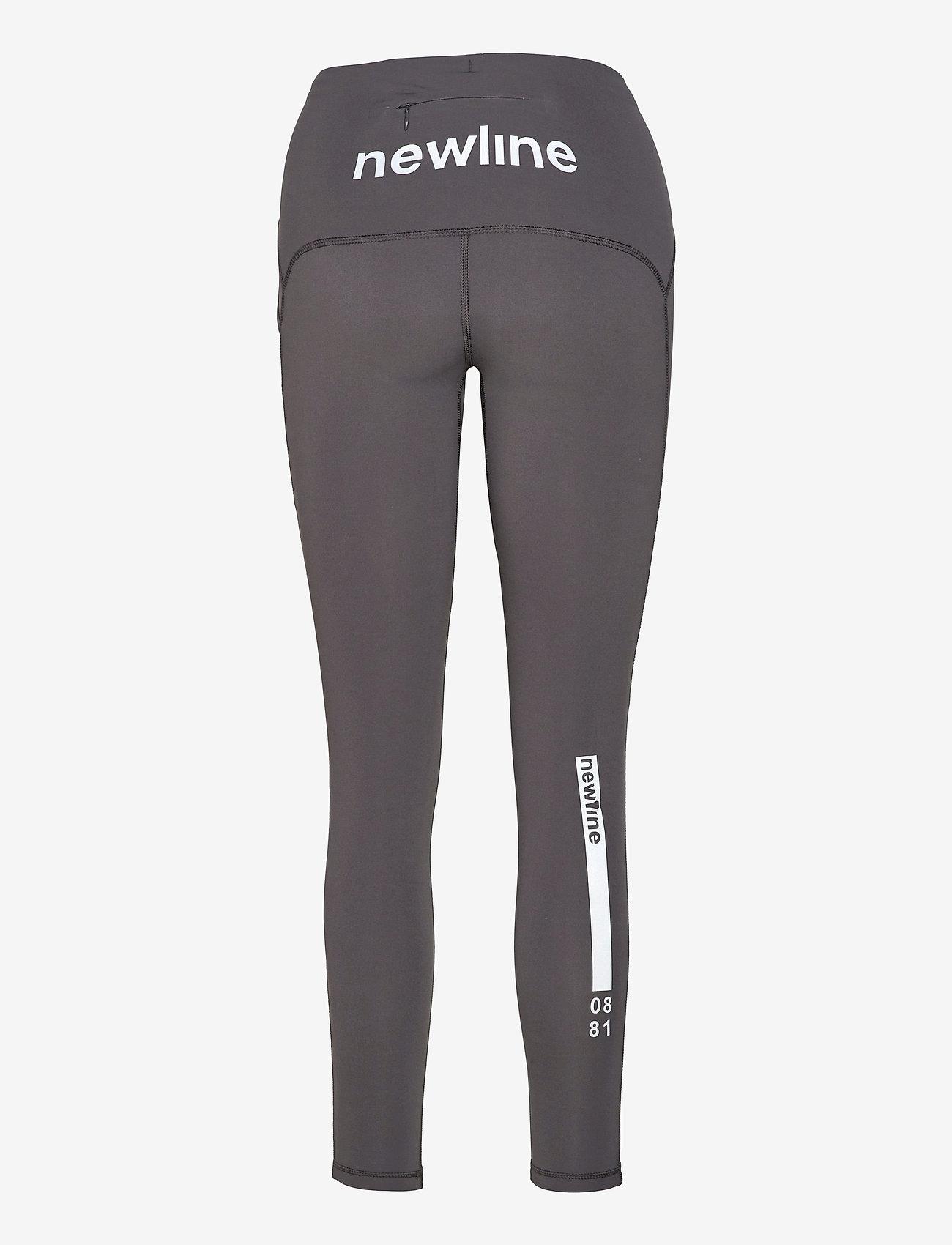 Newline - WOMEN´S 7/8 TIGHT - running & training tights - asphalt - 1