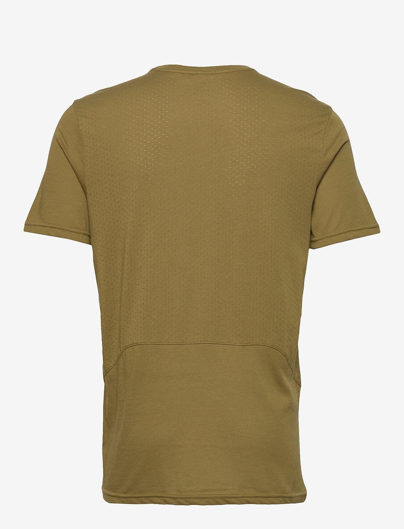 Men's Cotton/poly Tee (Moss Green) - Newline 3PLEzV