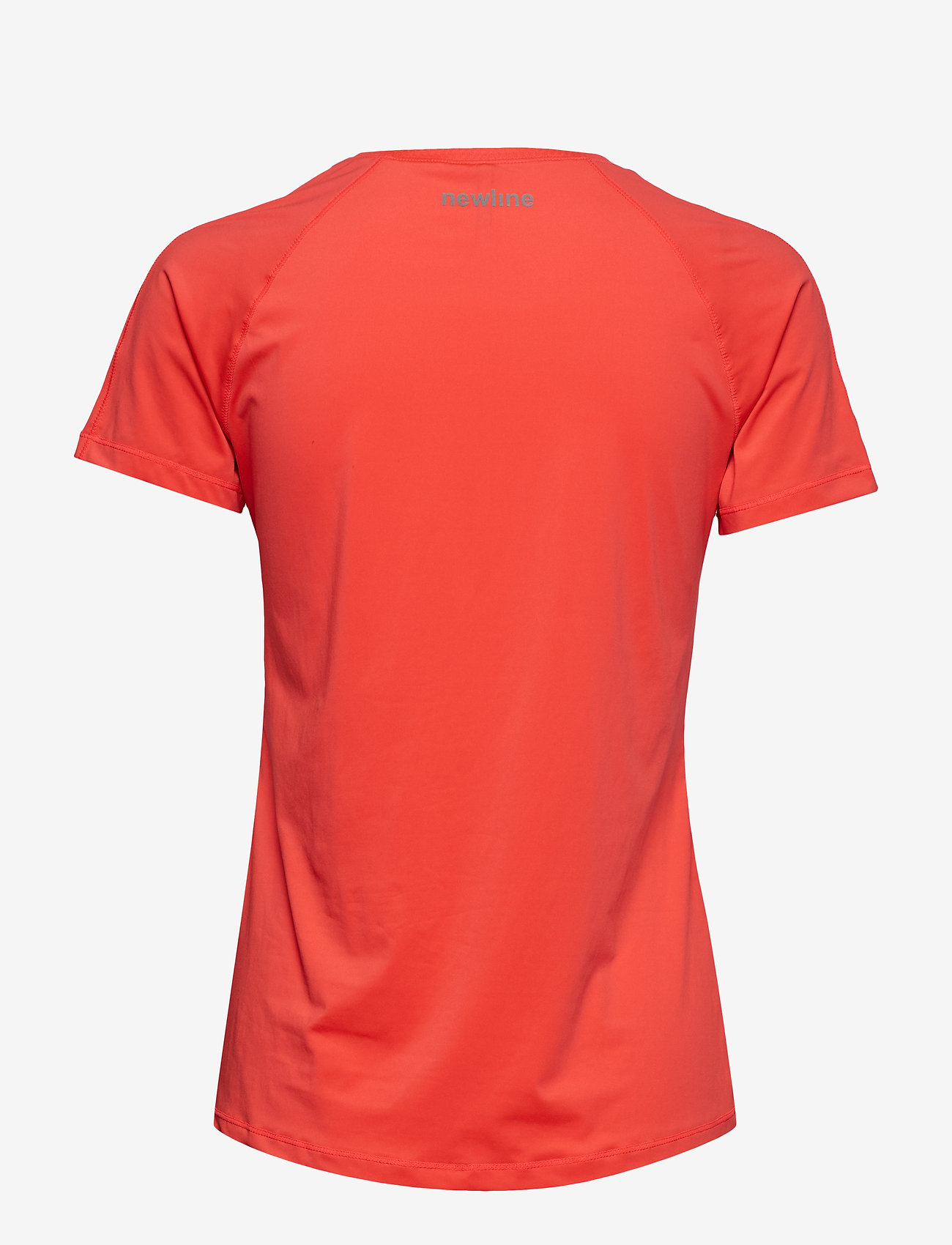 Newline - Black Dry Tee - logo t-shirts - electric coral - 1