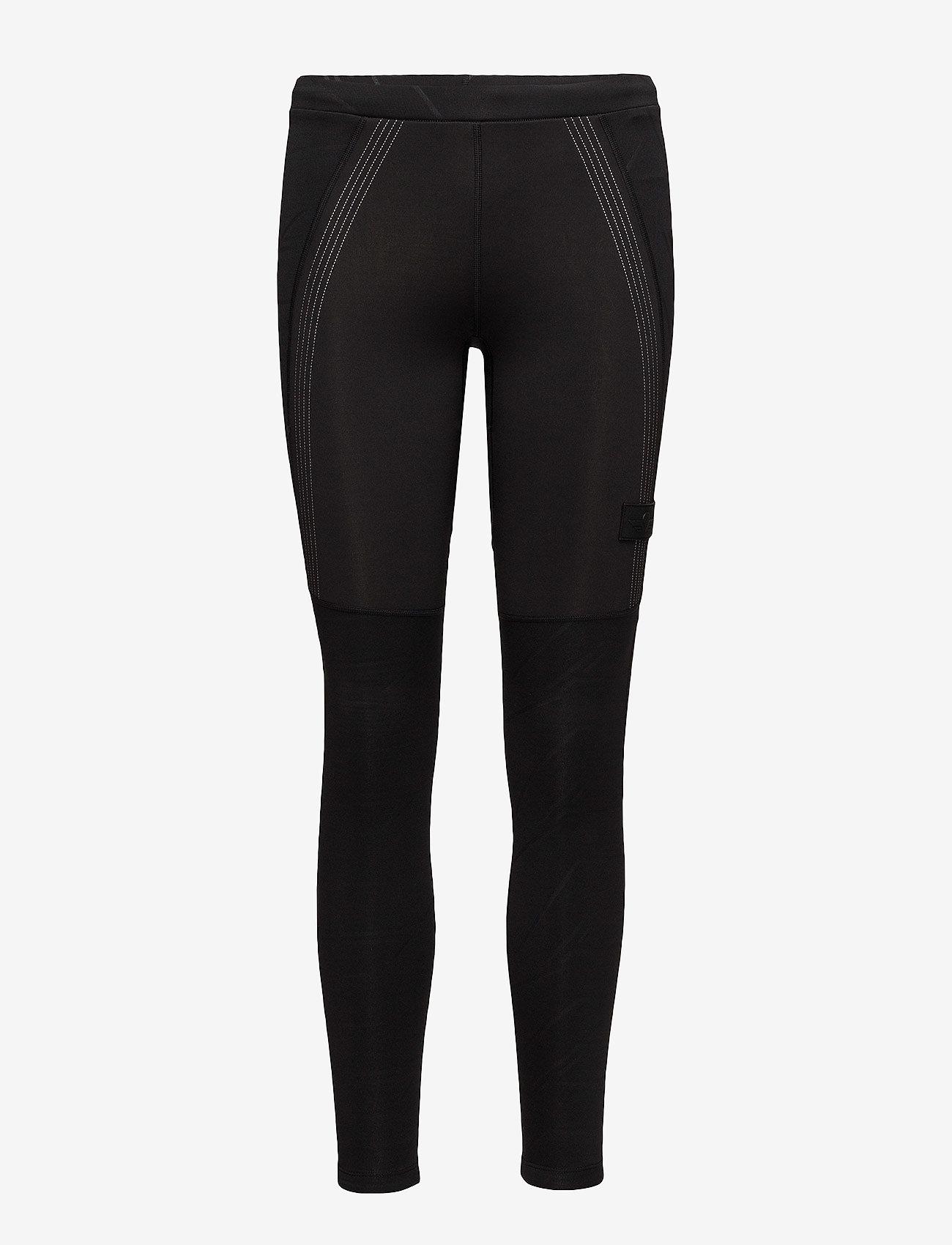 Newline - BLACK WARM WIPER TIGHTS - running & training tights - black - 0