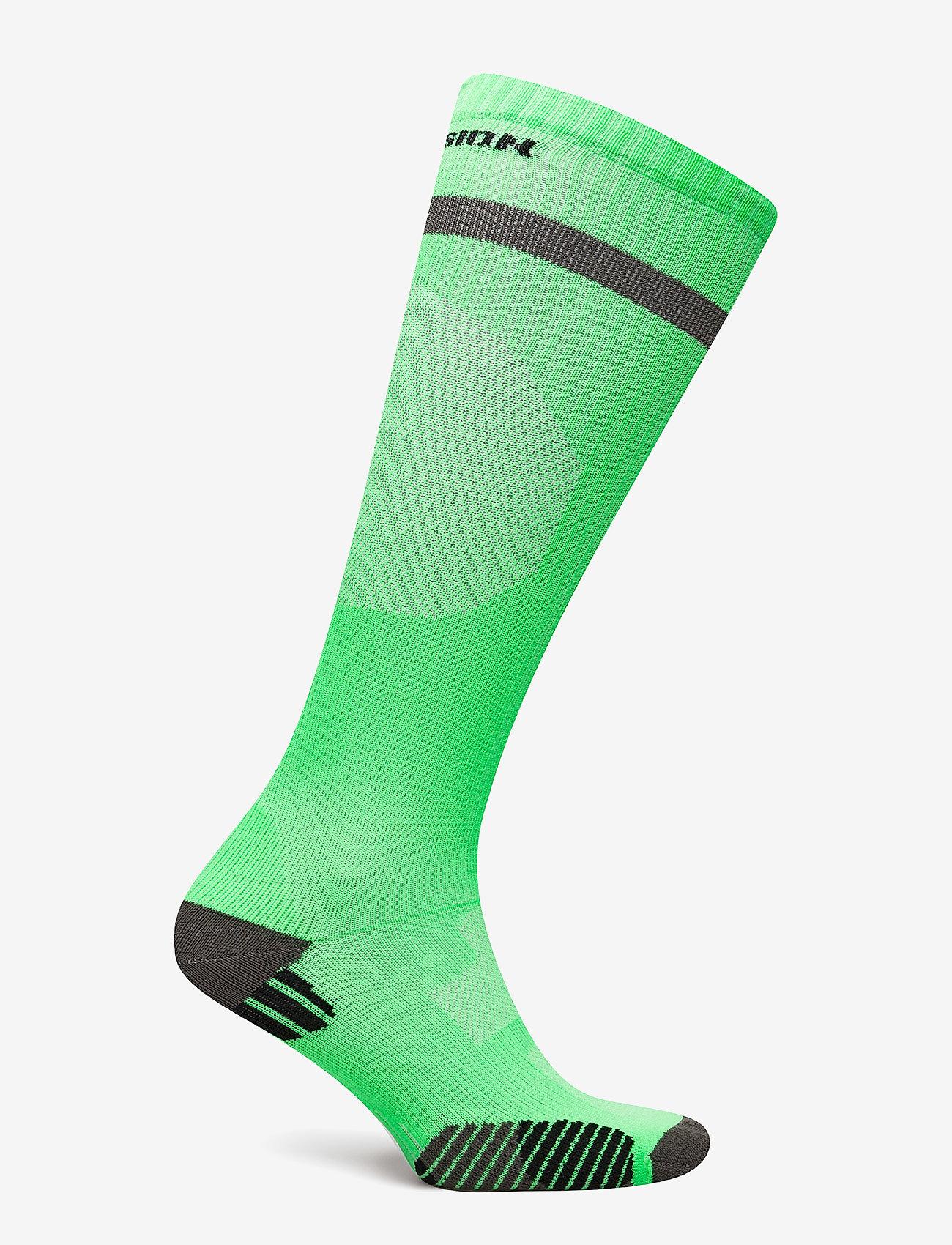 Newline - Compression Sock - tavalliset sukat - neon green - 1