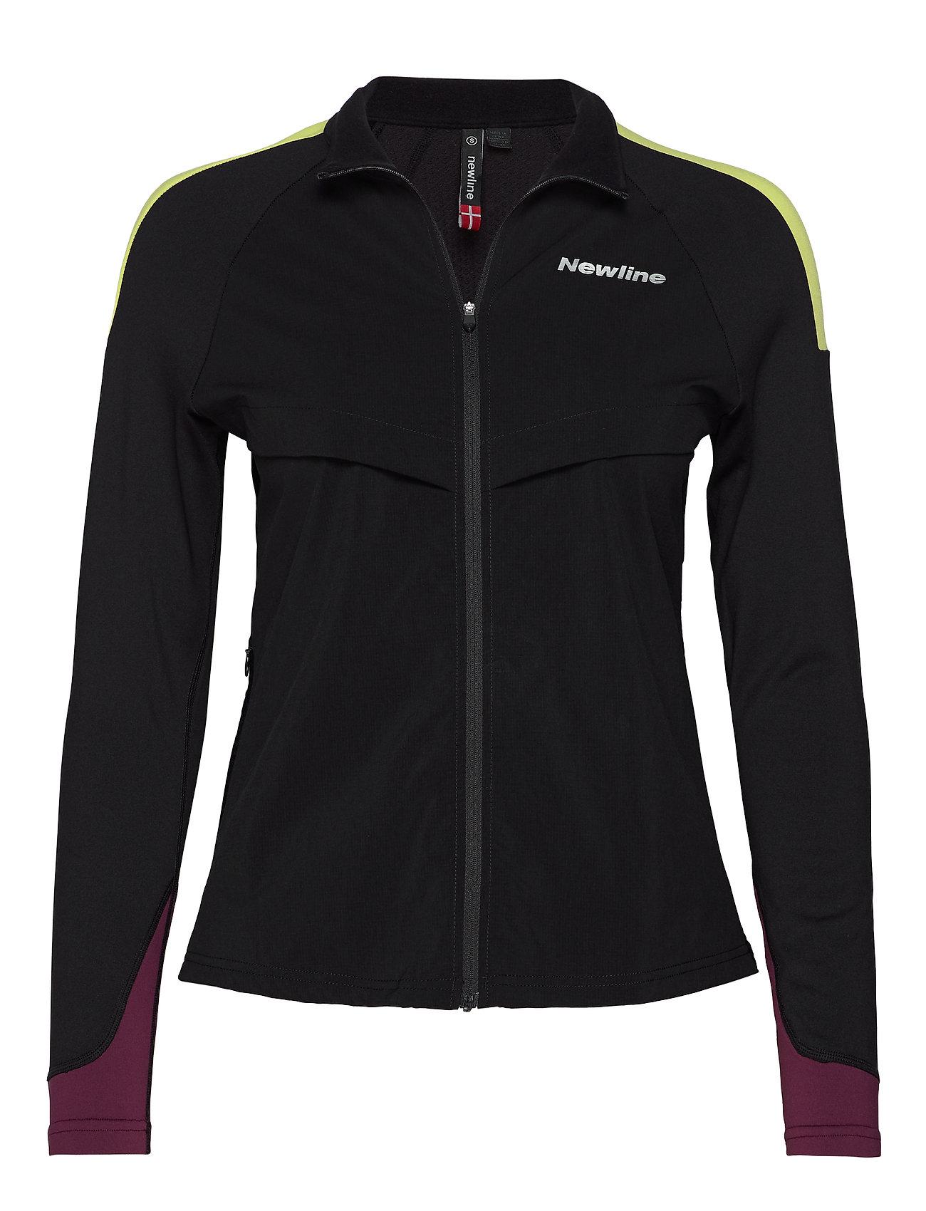 Newline Comfort Jacket - BLACK/LIME/BERRY