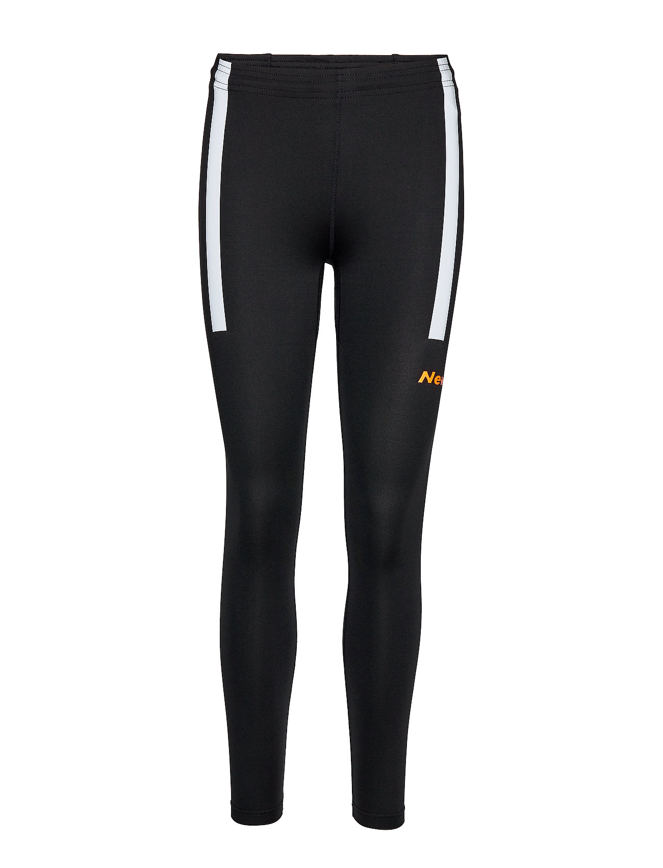 Newline Visio Tights - BLACK/ORANGE