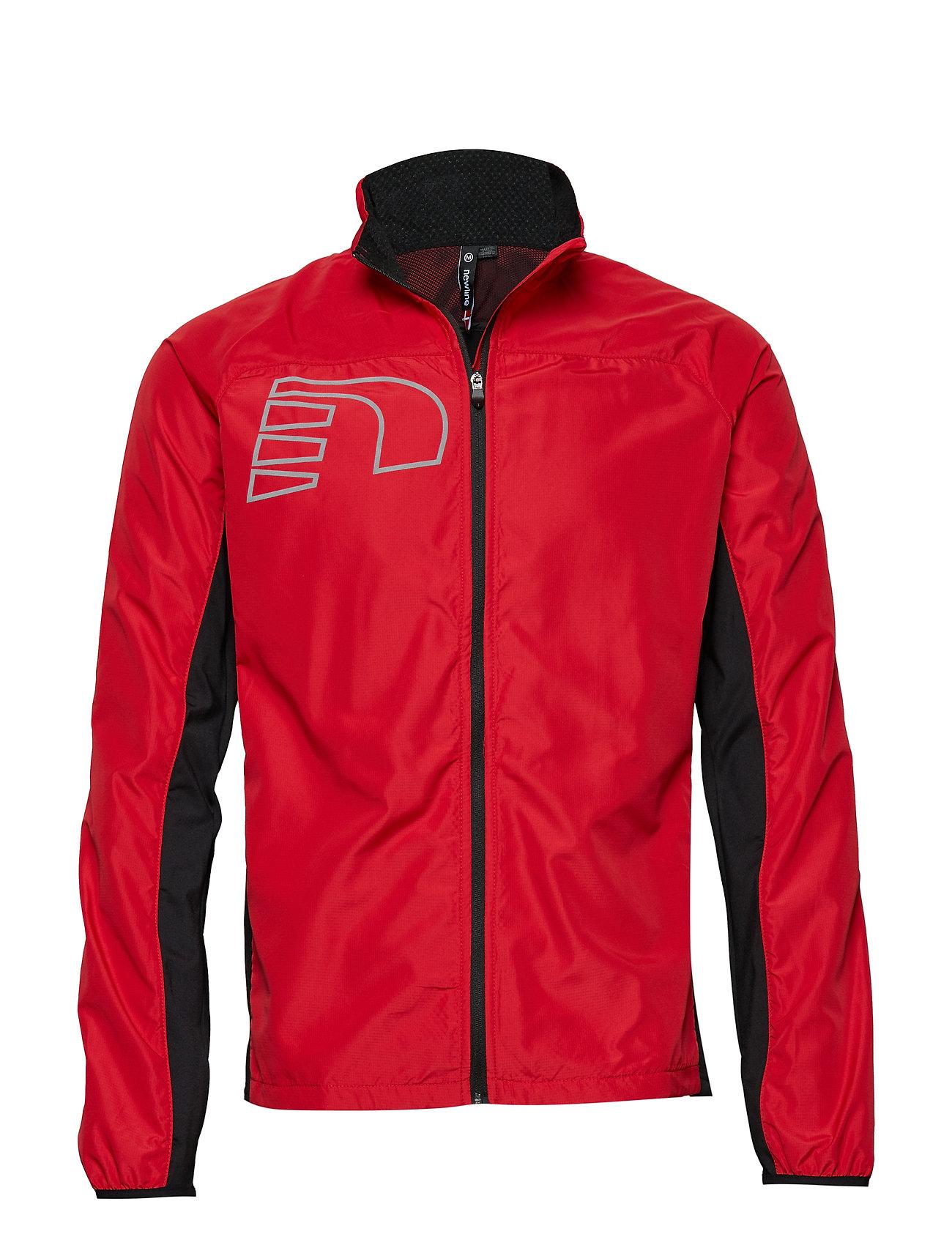Newline Core Cross Jacket Outerwear Sport Jackets Röd Newline