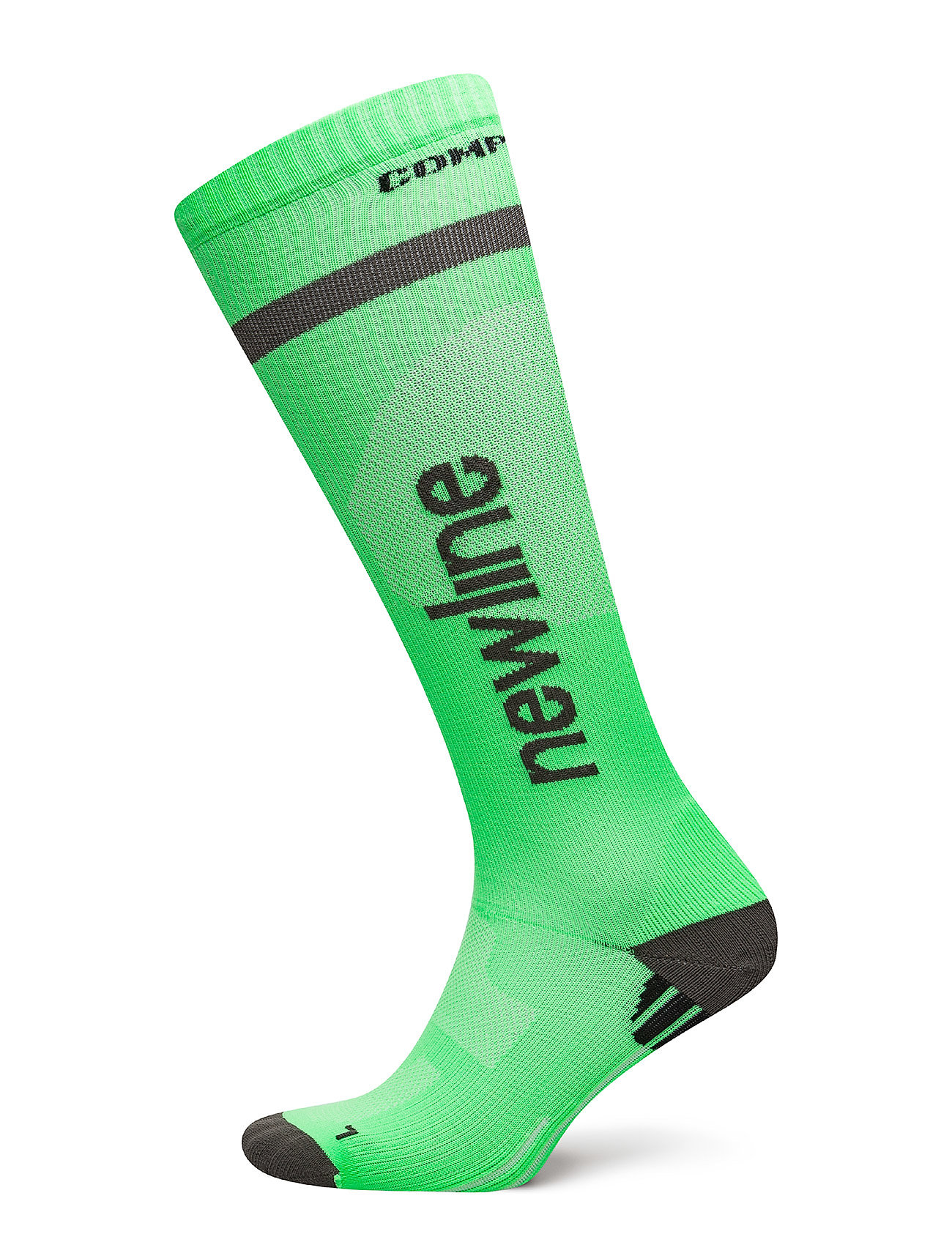 Newline Compression Sock - NEON GREEN