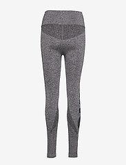 Newline - Jaquard Tights - running & training tights - heather grey - 1