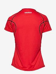 Newline - Core Coolskin Tee - logo t-shirts - red - 1