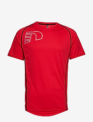 Newline - Core Coolskin Tee - t-shirts - red - 0