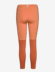 Newline - Women's 7/8 Tights - running & training tights - mecca orange/dusted clay - 1