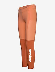 Newline - Women's 7/8 Tights - running & training tights - mecca orange/dusted clay - 2