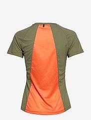 Newline - BLACK FEATHER TEE - t-shirty - para green - 1