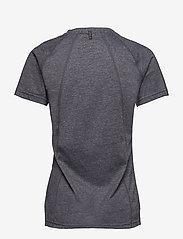 Newline - BLACK SLIDER TRAINING Tee - logo t-shirts - dark grey  - 1