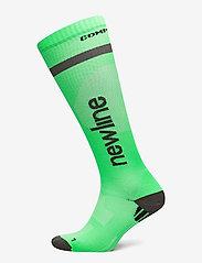 Newline - Compression Sock - tavalliset sukat - neon green - 0