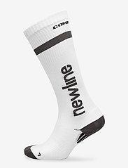 Newline - Compression Sock - tavalliset sukat - white - 0