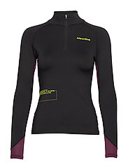 Thermal Power Shirt - BLACK/BERRY