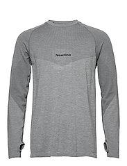 Jaquard Shirt - DARK GREY/BERRY