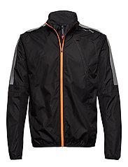 Visio Wind Jacket - BLACK/ORANGE