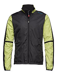 Cross Jacket - DARK GREY/BLACK/LIME
