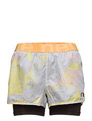 Imotion Printed 2-Lay Shorts - MULTI COLOUR PRINT