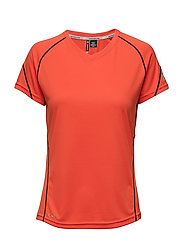 Base Coolskin Tee - HOT ORANGE