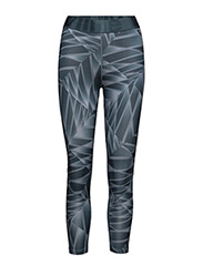 Imotion Printed 7/8 Tights - STEEL BLUE PRINT
