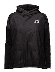 Imotion Baggy Windbreaker Shirt - BLACK