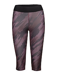 Imotion Printed Knee Tights - PRINTED THISTLE FLOWER