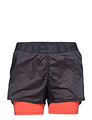 Imotion 2-Lay Shorts - CALM BLUE/FLUO CORAL
