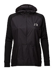 Imotion Hooded Windbreaker - BLACK