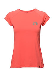 Imotion Capsleeve Tee - FLUO CORAL