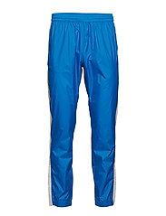 Black Track Cross Pants - BRIGHT BLUE