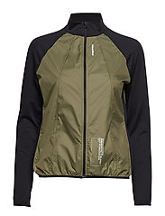 Black Windbreaker Shirt - PARA GREEN