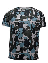 Imotion Tech Tee - SKY BLUE CAMO PRINT