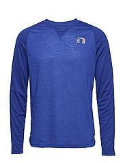 Black Light Thermal Shirt - ELECTRIC BLUE