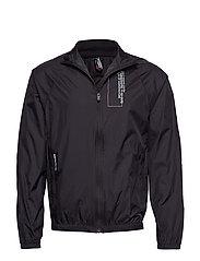 Black Track Jacket - BLACK