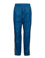 Black Track Pants - BLUE