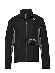 Black Training Utility Jacket - BLACK
