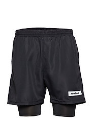 Black 2-Lay Shorts - BLACK