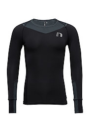 Iconic Vent Stretch Shirt - BLACK/SHADOW WATER