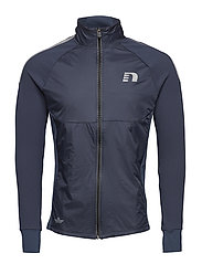 Black Thermal Comfort Jacket - DARK INDIGO