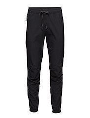 BLACK 4-Way Stretch Drop Zone Pants - BLACK