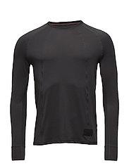 BLACK Airflow Shirt - DARK GREY