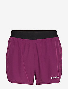 2-Lay Shorts - träningsshorts - berry/lime