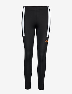 Visio Tights - løpe- og treningstights - black/orange