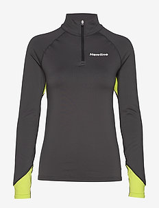 Thermal Power Shirt - sweatshirts - dark grey/lime