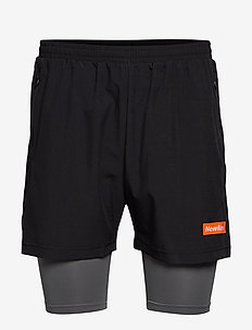 2-Lay Shorts - BLACK/GREY SHADE